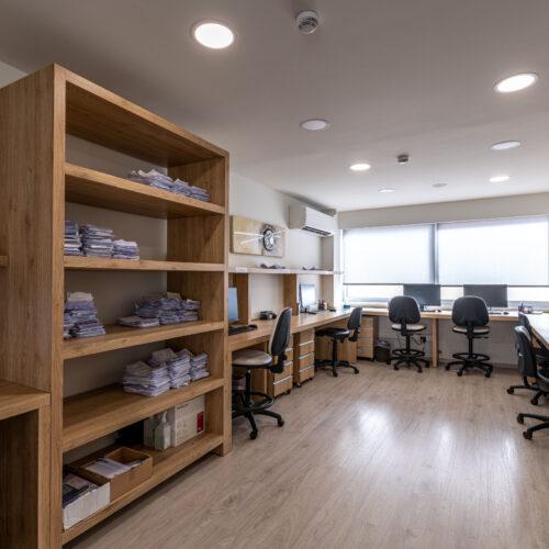 Χώρος εργαστηρίου μοριακών εξετάσεων
